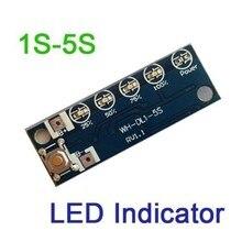 1S 2S 3S 4S 5S Lithium-Lade Batterie Spannung Kapazität Prozent Ebene Led-anzeige ladegerät display 18650 Li-Ion Lipo batterien