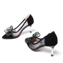 a35aca5d40 EPERFETT 2019 Spring   Autumn moda jovem women shigh-sapatos de salto alto  Personalizado Maior E Pouco tamanho 33 34 40 41 42 43... R  173 ...