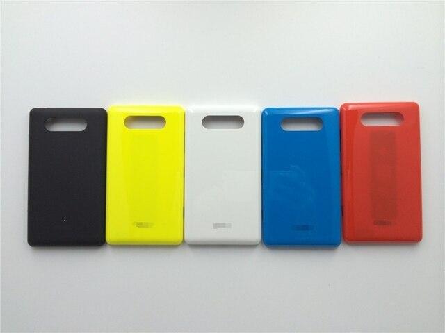 Новый Оригинальный Крышку Корпуса Чехол Для Nokia Lumia 820 Крышка Батареи Дело Дверь + Беспроводной зарядки Бесплатная Доставка