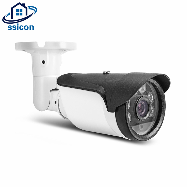 SSICON SONY IMX323 Bullet AHD Surveillance Outdoor Camera 1080P 3.6mm Lens 6Pcs Array Leds Analog IR Night Vision Camera 2MP