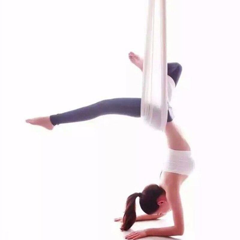 Special yoga Aerial flying Anti-gravity Yoga Hammock trainer 5 meter +1 pair carabiner +1 pair daisy chain +1pair ring mount 5 2 8 meter full set aerial anti gravity yoga hammock swing yoga 1 pair carabiner 1 pair extender rope 1pair ring mount