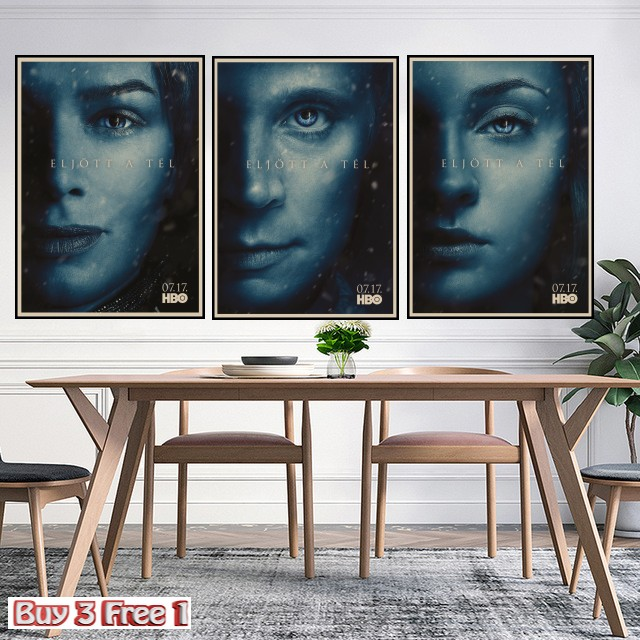 Game of Thrones The Wall TV Poster