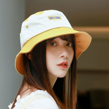 2019 Fashion Patchwork Bucket Hat Women Hip Hop Caps Gorros Fisherman Cap Unisex Casual Summer Flat Cotton