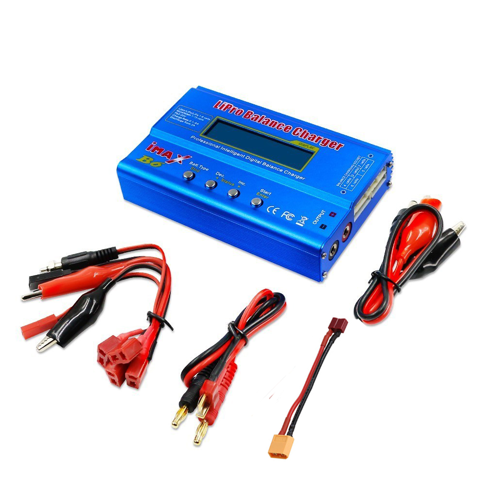 IMAX B6 80w Drone Battery Chargers Multifunct  2S-6S Lipo Balance Charger  Lipro Digital Charger For RC Battery Lithium Battery