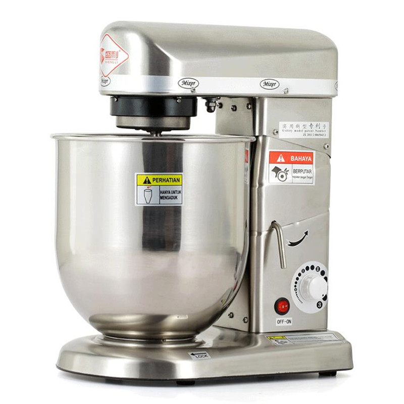 220V Multifunctional Electric Dough Mixer Machine 5L 7L 10L Available Stand Food Mixer Egg Beater Dough