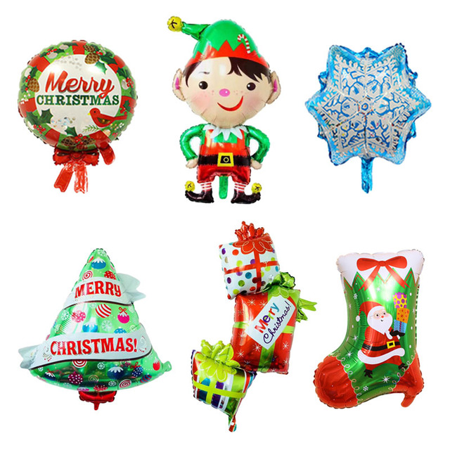 Christmas Party 2019 Clipart.Us 0 43 14 Off Christmas Stock Foil Balloons Boy Globos Christmas Tree Balloon Christmas Party Decorations Navidad Gift Box Ball New Year 2019 In