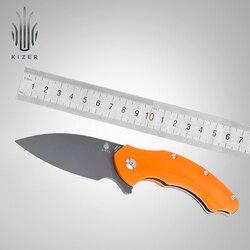 Kizer lama di sopravvivenza nuovo N690 lama in acciaio Roach V4477 di qualità eccellente edc strumento