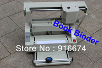 Free Shipping Cheap Perfect 31x43cm Glue Book Binder Book Binding Machine Milling Spine Rounder