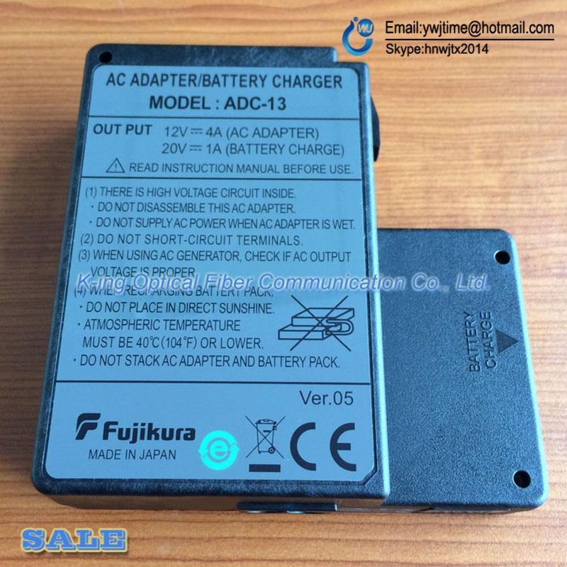 bilder für Orginal Fujikura ADC-13 AC adapter für Fujikura FSM-60S FSM-60R FSM-18S FSM-18R fusion splicer Ladegerät Adapter