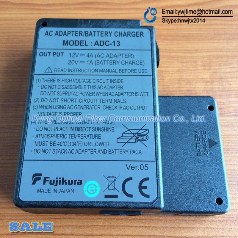 imágenes para Orginal Fujikura ADC-13 adaptador de CA para Fujikura FSM-60S FSM-60R FSM-18R fusionadora FSM-18S Adaptador de Cargador de Batería