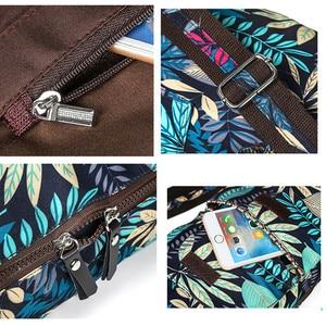 Image 5 - Printed Yoga Mat Bag Gym Mat Case For Momen Men Pilates Fintess Exercise Pad Easy Carry Yoga Backpack Dance Sports Yoga Bags