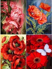 Diamond Embroidery Sale Flowers  Mosaic Rose Canvas 5D DIY Painting Full Square Cross Stitch