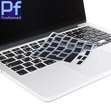 Для Macbook Air Pro retina 13 15 17 Силиконовые серьги Французская клавиатура Обложка для Mac book клавиатура франция ЕС ЕВРО AZERTY