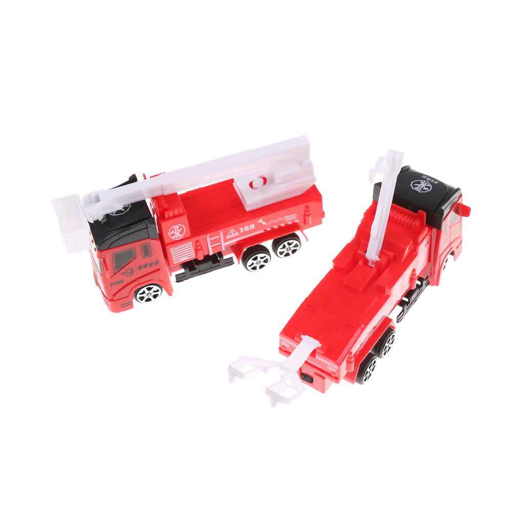 Toys & Hobbies Frank 1pc Fire Truck Car Boy Educational Toy Childrens Vehicles Toys Mini Fireman Toy Christmas Birthday Gifts
