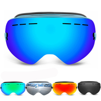 SJ Maurie Full Face Snow Mask Snowboard Goggles Anti fog Eyewear Ski Mountaineering Snow Glasses Photochrome Goggles Airsoft