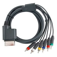 High Quality Durable New Component HDTV Video and RCA Stereo AV Cable for Xbox 360 Audio/Video Cable(China)