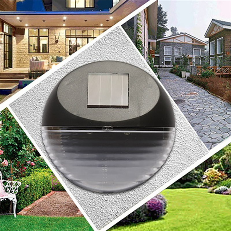 Solar Power Led Wall Light Outdoor Waterproof Solar Lamp Garden Light Decoration Lamp Garden Fence Street Security Night Lights