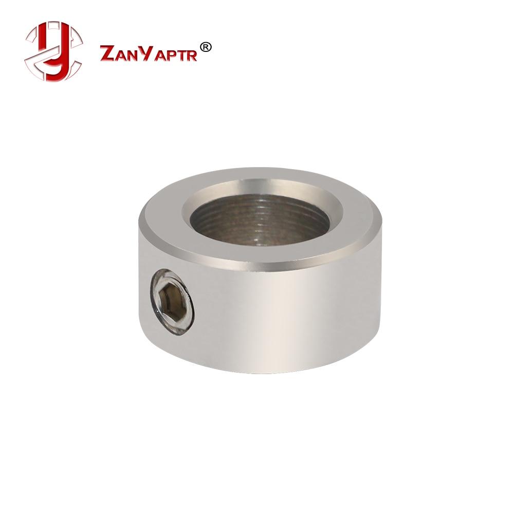 5pcs Stainless Sreel T8 8mm Shaft Lock collar Locking Lead Screw For 3D Printer