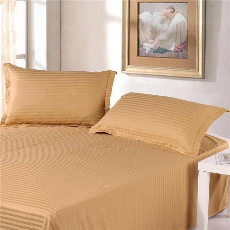 2pcs 100% Cotton Premium Satin Stripe Encryption Fabric Pillow Case 50 * 70cm & 70 * 70cm More Specifications