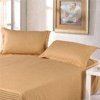 2pcs 100 Cotton Premium Satin Stripe Encryption Fabric Pillow Case 50 70cm 70 70cm More Specifications