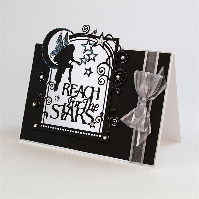YaMinSanNiO Reach For The Metal Cutting Dies Stars Angel Dies Scrapbooking New 2019 For Card Making Embossing Crafts Die Cuts