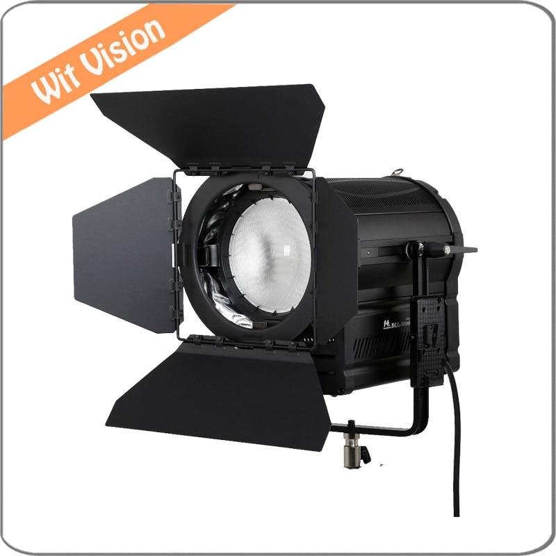 Falcon Eyes 300W LED Fresnel Light DLL-3000TDX Ra95 3000K-8000K DMX Vlock Plate  уровень defort dll 10t k