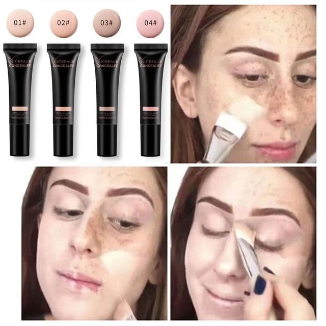 Niceface Best Deal New Liquid Foundation Moisturizing Waterproof Concealer BB Cream face Makeup Cosmetic foundation maquiagem