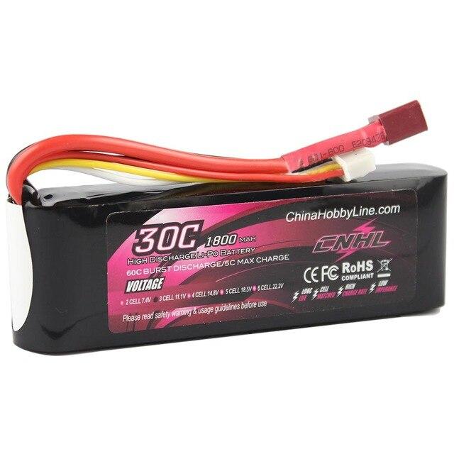 LI-PO 1800mAh 11.1V 30C(Max 60C) 3S Lipo Battery Pack