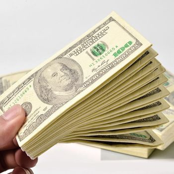 10pc 100$ Dollars Napkin US Dollar Bill Money Paper Towel Party Tricky Gift Disposable Napkins Wedding Party Birthday Decoration 1