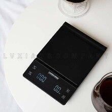 CAFEDE KONA цифровые кухонные весы 0,3 г ~ 3000 г ABS панель, светодиодный дисплей