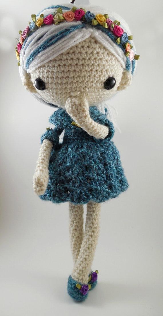 Amigurumi poupée Crochet hochets filles bébé hochet
