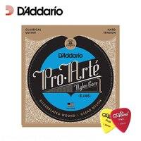 ד 'addario EJ46 Pro-arte ניילון קלאסי, מתח קשה,. 0285-.044 Daddario מיתרי גיטרה