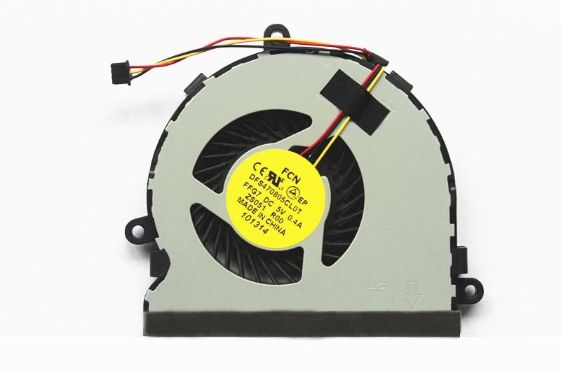 Новый вентилятор охлаждения процессора для Dell inspiron 15R 17 17R 3521 3721 5521 5535 5721 74X7K