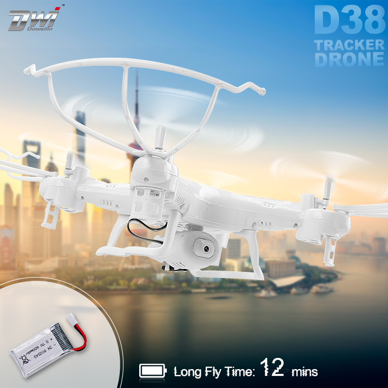 Camera Drone RC Quadcopter Drone 2.0MP Helicopter For Remote Control Dron 2.4Ghz 6-Axis Helicopters DWI D38