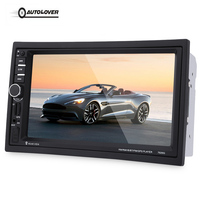 7020G 2 Din 7 Inch Car Audio Stereo MP5 Player Car DVD Video Player Touch Screen