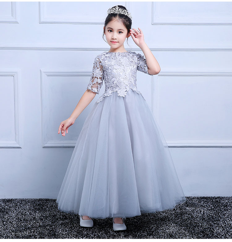 Actual Image Customized Flower Girl Dresses Lace Applique Formal Ruffles Pageant Gowns Any Size Any Color недорго, оригинальная цена
