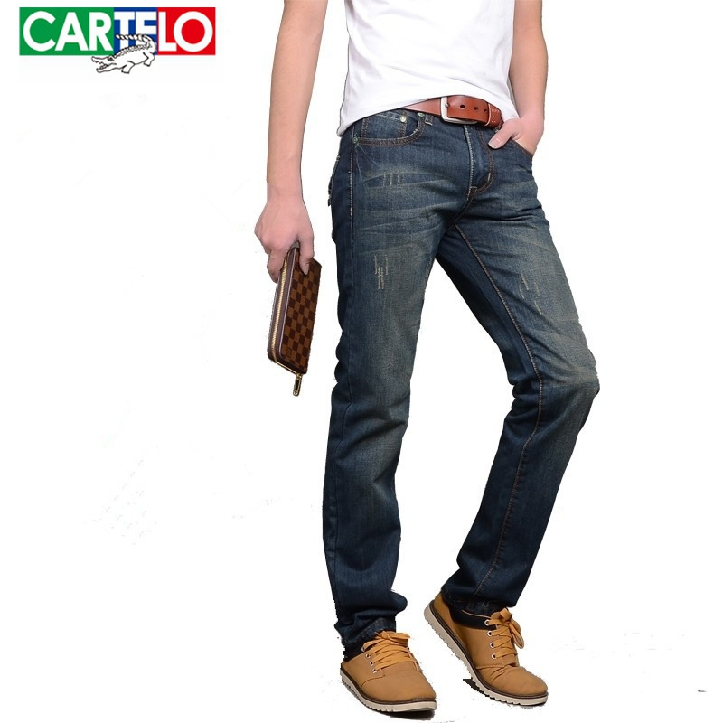 Cartelo brand business Fashion Men Jeans New Arrival Design Slim Fit cotton Jeans For high Quality trousers Denim jeans pants