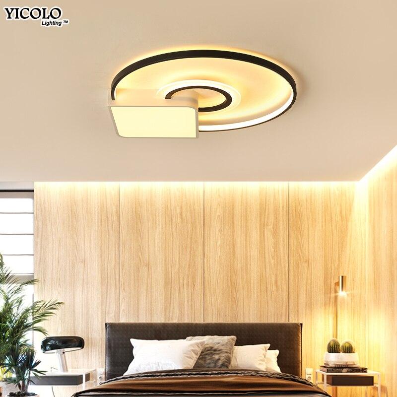 Dimmable Led Plafonniers Pour salon chambre chambre lamparas de techo vintage Moderne Luminaire deckenleuchte AC85-260V