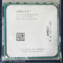 AMD FX 6300 AM3+ 3.5GHz/8MB/95W FX serial pieces FX 6300 Six Core CPU processor working 100%