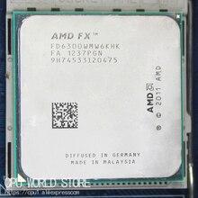 AMD procesador de seis núcleos de CPU, serie FX 6300 AM3 + 3,5 GHz/8MB/95W FX, FX 6300 100% de trabajo