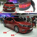 Car Bumper Lip Deflector Lips For TOYOTA Corolla / Front Spoiler Skirt For Auto to Car Tuning View / Body Kit / Strip