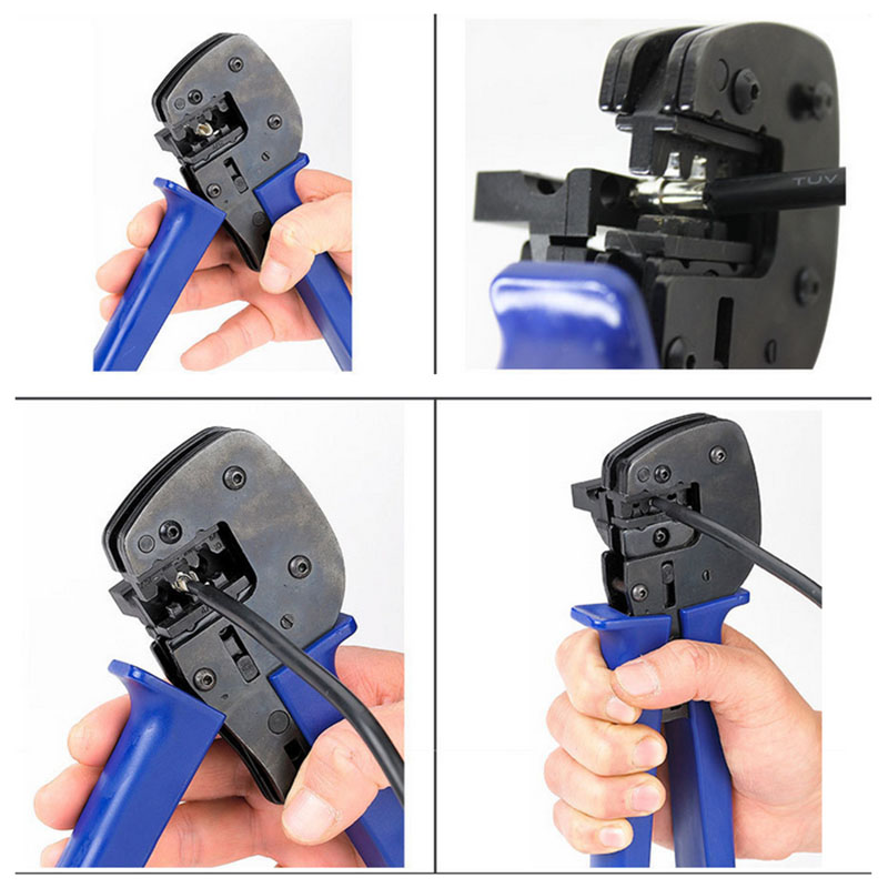 Solar Photovoltaic Cable Riveting Pliers Hand Crimping Tools Solar System Tools anton camarota sustainability management in the solar photovoltaic industry