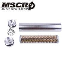 Авто Заготовка алюминиевый топливный фильтр турбо воздушный фильтр для Напа 4003 Wix 24003 1/2 28 и 5/8 24