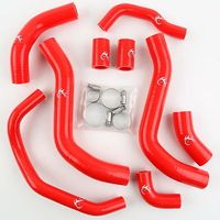 Silicone Radiator Hose W/ Clamps For Honda CBR 600RR 2007 2012 08 09 10 11 Motorcycle 3 colors