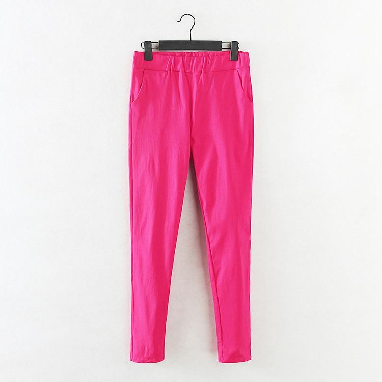 Pantallona me lapsa elastike Gratë krejt të reja Rastesishme Plus - Veshje për femra - Foto 3