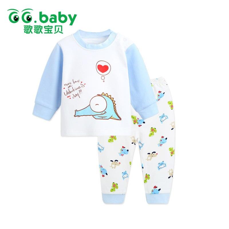 2pcs/set Baby Boy Set Clothes Newborn Baby Girl Sets Boy Infant Clothing Sets Baby Girl Pants Blouse Shirt Bebes Infant Clothing