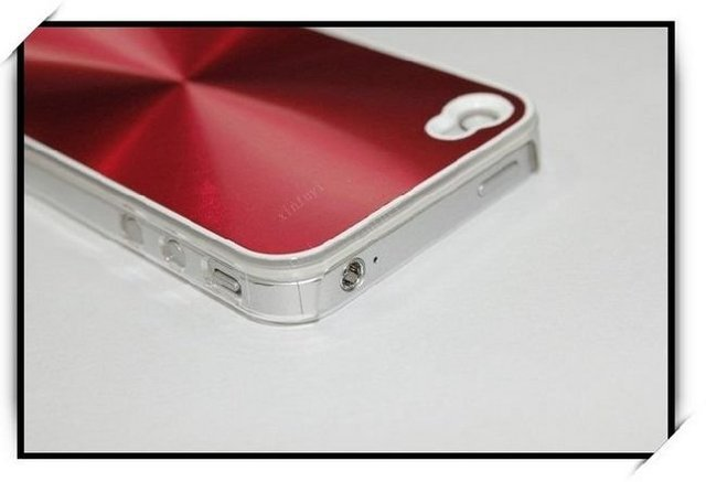for iphone 4G Aluminum case  free shipping  100pcs/lot