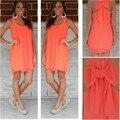 Шифон женщины летнее платье 2016 жаркое лето стиль Большой размер женской одежды пляж платье