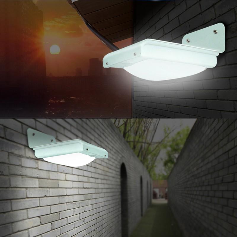 led solar wall light