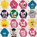 Дети толстовка дети Длинные рукава верхней одежды мультфильм виньи медведь миньоны pattern одежда мальчики спортивные костюмы 16 цвета